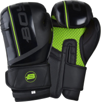 Боксерские перчатки BoyBo B-Series (8oz, зеленый) -