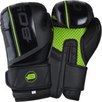 Боксерские перчатки BoyBo B-Series (14oz, зеленый) -