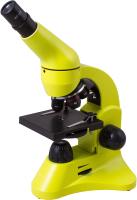 Микроскоп оптический Levenhuk Rainbow 50L / 69049 (Lime) -