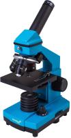 Микроскоп оптический Levenhuk Rainbow 2L Plus / 69043 (Azure) -