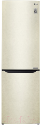 Холодильник с морозильником LG GA-B419SEJL