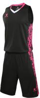 Баскетбольная форма Kelme Basketball Clothes / 3581039-000 (2XL, черный) -