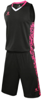 Баскетбольная форма Kelme Basketball Clothes / 3581039-000 (XL, черный) -
