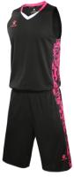 Баскетбольная форма Kelme Basketball Clothes / 3581039-000 (3XL, черный) -