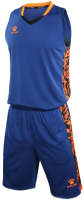 Баскетбольная форма Kelme Basketball Clothes / 3581039-400 (3XL, синий) -