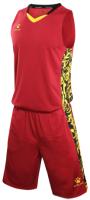 Баскетбольная форма Kelme Basketball Clothes / 3581039-603 (M, красный) -