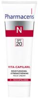 Крем для лица Pharmaceris N Vita-Capilaril увлажняющий с укрепляющим эффектом (50мл) -