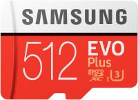 Карта памяти Samsung Evo Plus MicroSD 512GB (MB-MC512HA/RU) -