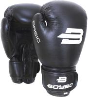 Боксерские перчатки BoyBo Basic (10oz, черный) -