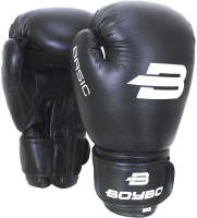 Боксерские перчатки BoyBo Basic (4oz, черный) -