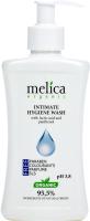 Гель для интимной гигиены Melica Organic с молочной кислотой и пантенолом (300мл) -