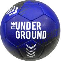 Футбольный мяч Ingame Underground 2020 (размер 5, черный/синий) -