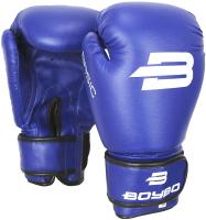 Боксерские перчатки BoyBo Basic (14oz, синий) -