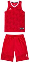 Баскетбольная форма Kelme Basketball Set Kids / 3593052-600 (150, красный) -