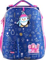 Школьный рюкзак Mike&Mar Пингвин / 1008-186 (синий) -
