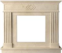 Портал для камина Glivi Родез 130x30x110 Crema Marfil (слоновая кость) -