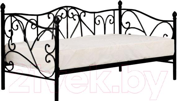 Купить Односпальная кровать Halmar, Sumatra 90x200 (черный), Китай