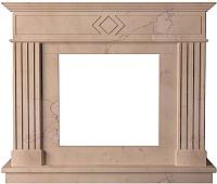 Портал для камина Glivi Родез 130x30x110 Rosa Perlino (розовый) -