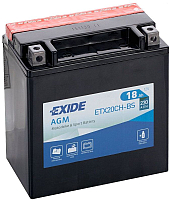 Мотоаккумулятор Exide ETX20CH-BS (18 А/ч) -