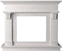 Портал для камина Glivi Санта-Лючия 135x41x111 Biancone (белый) -