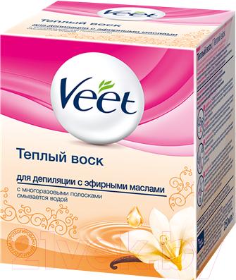 Воск для депиляции Veet С эфирными маслами (250г)
