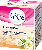 Воск для депиляции Veet С ароматом жасмина (250г) -