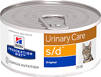 Корм для кошек Hill's Prescription Diet Urinary Care s/d (156г) -