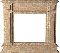 Портал для камина Glivi София 114x33x102 Emperador Light (светло-коричневый) -