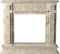 Портал для камина Glivi София 114x33x102 Breccia Sardo (темно-бежевый) -