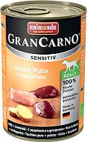 Корм для собак Animonda GranCarno Sensitiv Adult с индейкой (400г) -