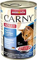 Корм для кошек Animonda Carny Adult с говядиной,треской и петрушкой (400г) -