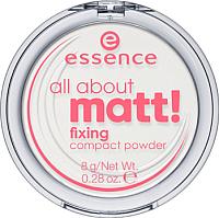 Фиксирующая пудра для лица Essence All About Matt! Fixing (8г) -