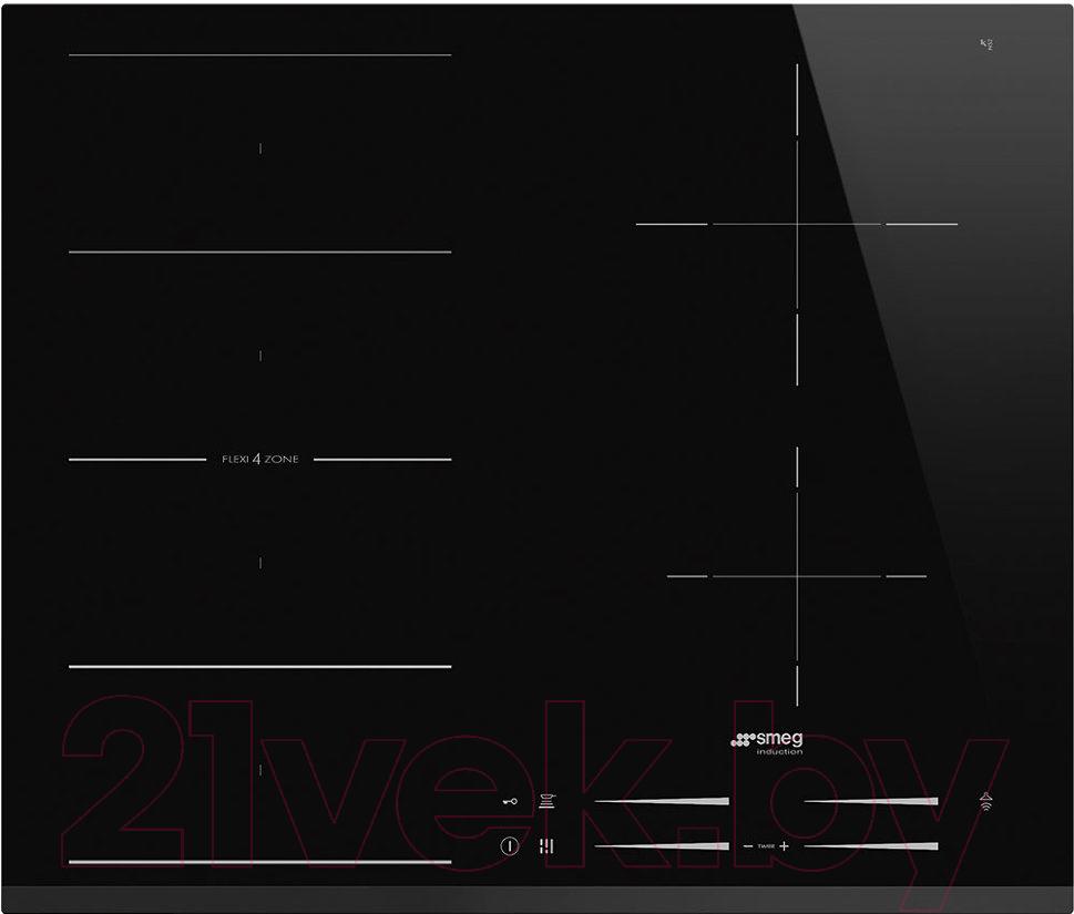 Купить Индукционная варочная панель Smeg, SI1F7645B, Италия