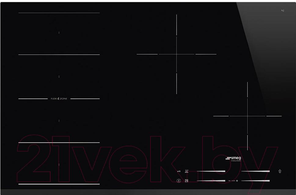 Купить Индукционная варочная панель Smeg, SI1F7845B, Италия