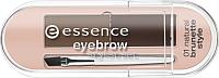 Набор для моделирования бровей Essence Eyebrow Stylist Set компактные тон 01 (2г) -
