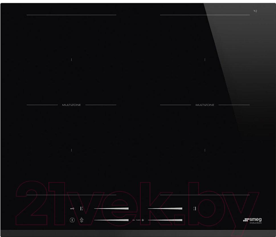 Купить Индукционная варочная панель Smeg, SI2M7643B, Италия