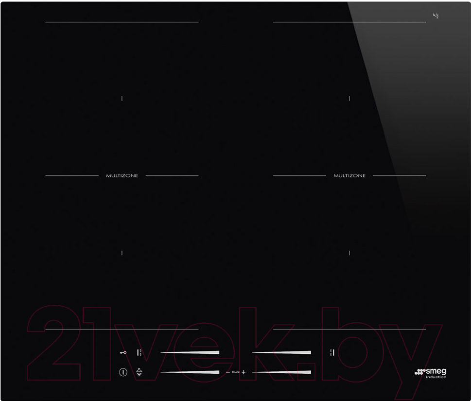 Купить Индукционная варочная панель Smeg, SI2M7643D, Италия