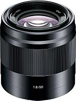 Стандартный объектив Sony E 50mm F1.8 OSS (SEL50F18F) -