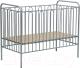 Детская кроватка Polini Kids Vintage 110 (серебристый) -