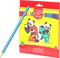 Набор цветных карандашей Erich Krause ArtBerry / 47347 (24цв) -