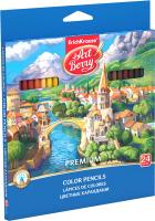 Набор цветных карандашей Erich Krause Premium / 32483 (24цв) -