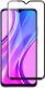 Защитное стекло для телефона Case Full Glue для Redmi 9 / 9A / 9C (черный) -