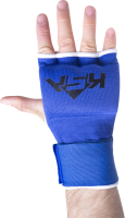 Перчатки внутренние для бокса KSA Cobra (M, синий) -