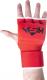 Перчатки внутренние для бокса KSA Cobra (M, красный) -