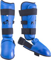 Защита голень-стопа KSA Force (S, синий) -