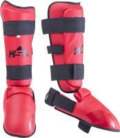 Защита голень-стопа KSA Force (S, красный) -