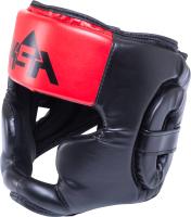 Боксерский шлем KSA Skull (L, красный) -