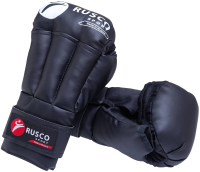 Перчатки для рукопашного боя RuscoSport Черный (р-р 8) -