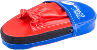Боксерские лапы RuscoSport 34x20x20 (2шт, красный/синий) -