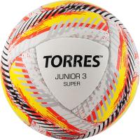 Футбольный мяч Torres Junior-3 Super HS/ F320303 (р-р 3, белый/красный/желтый) -